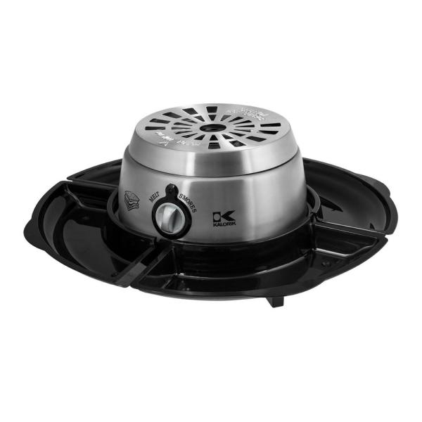 KALORIK 2-in-1 Chocolate Fondue and S'Mores Maker CYM 42873 SS