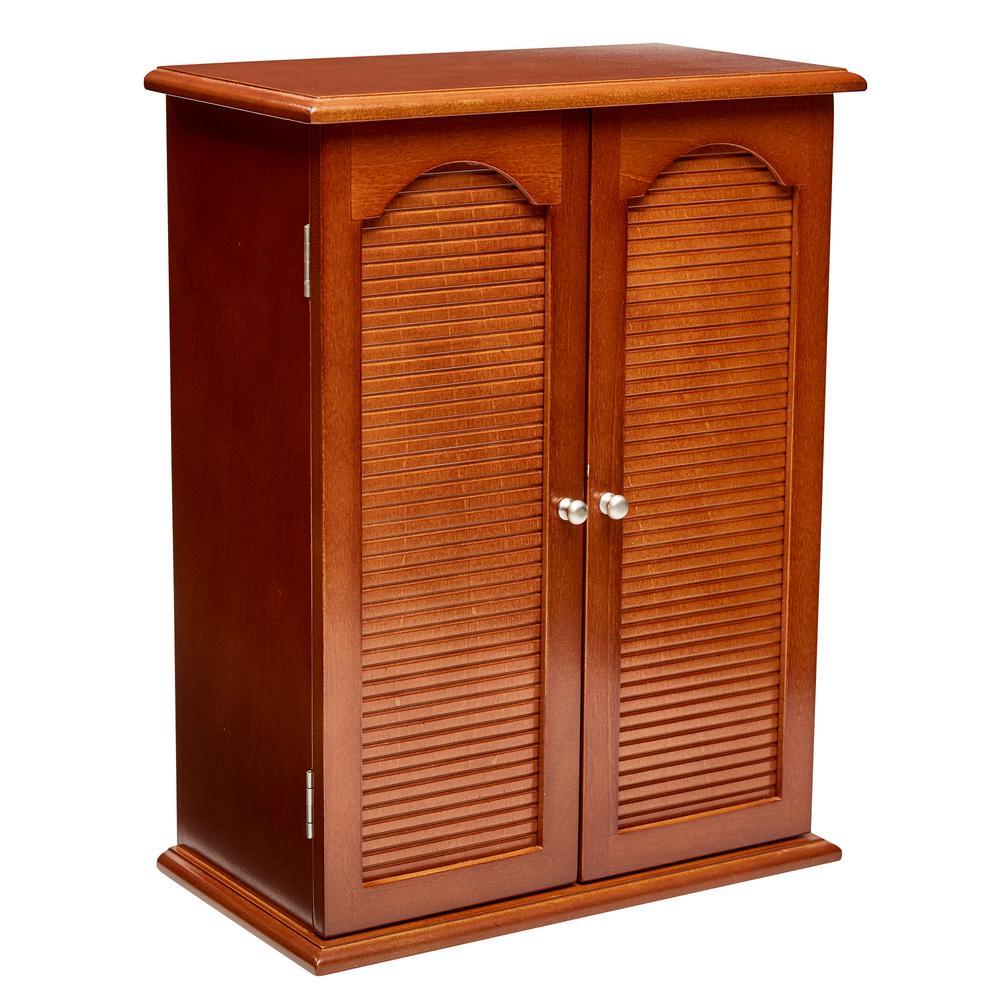 Camille Walnut Wooden Jewelry Box