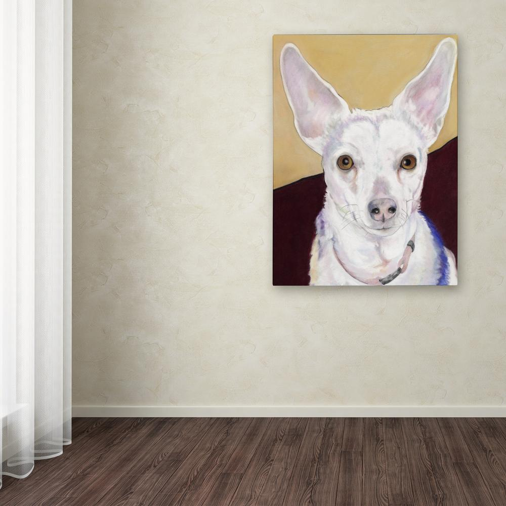 "24 in. x 18 in. ""Belle"" by Pat Saunders-White Printed Canvas"