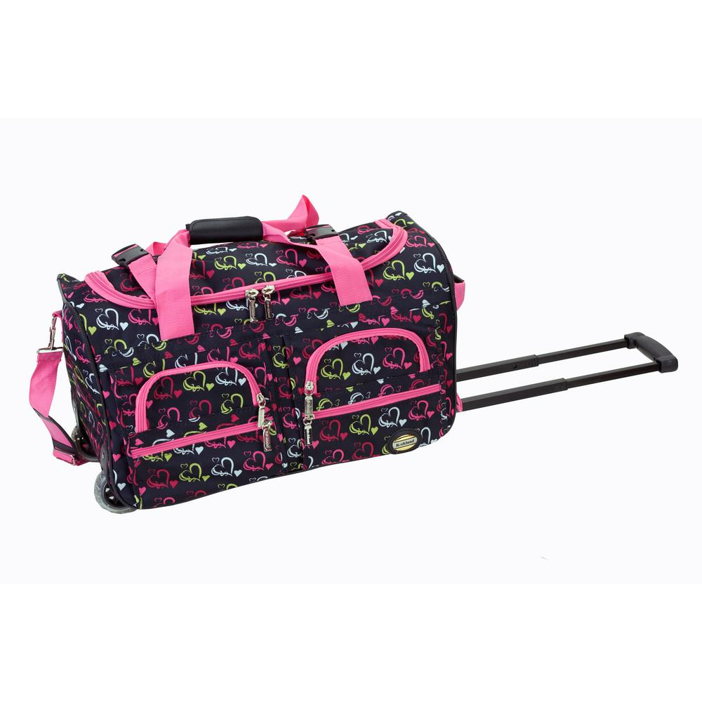 This review is from Rockland Voyage 22 in. Rolling Duffle Bag 57425760601c7