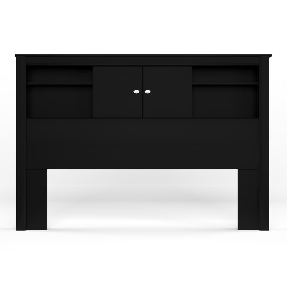 Prepac Kallisto Black Double/Queen Headboard BHFX-0302-1