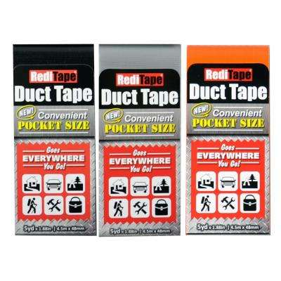 RediTape Pocket Size Duct Tape Basic Color (3-Pack)