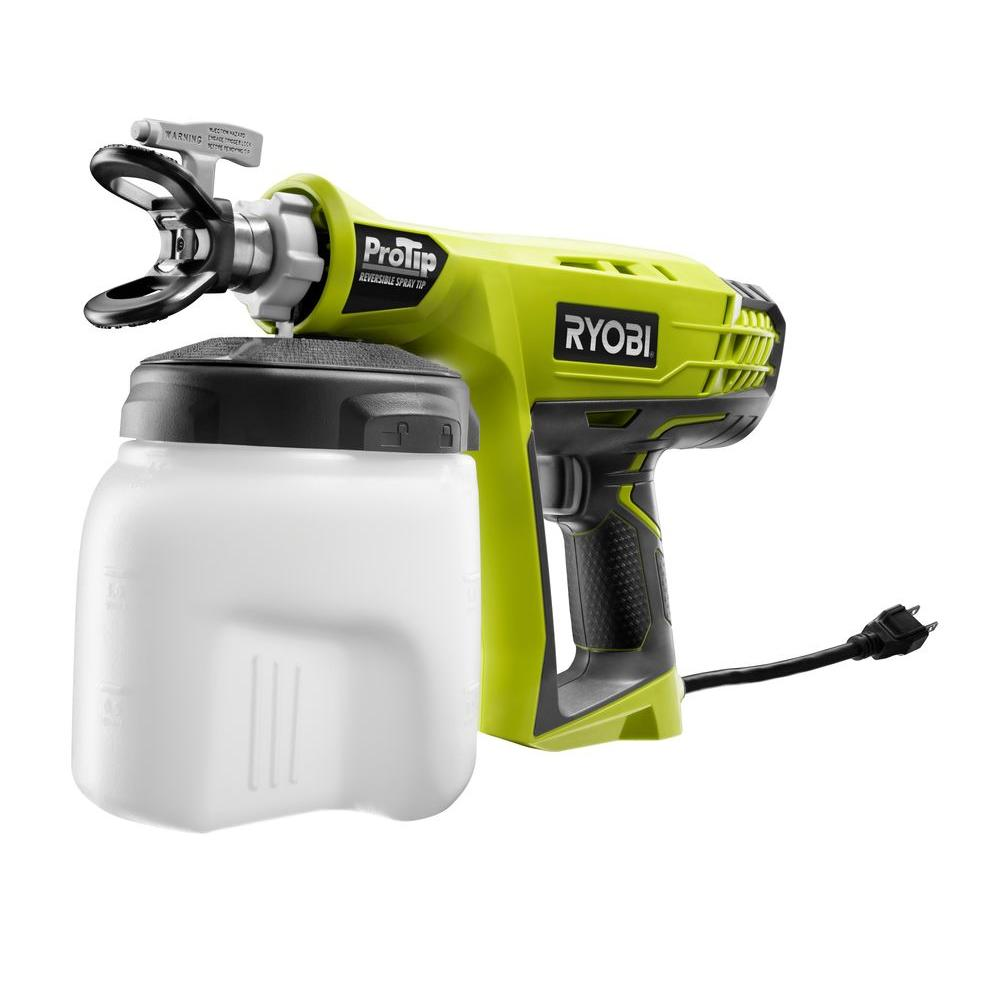 Ryobi Protip Corded Sprayer Ssp300 The Home Depot