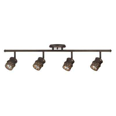 Norris 4-Light Oil Rubbed Bronze Adjustable Track Lighting Kit