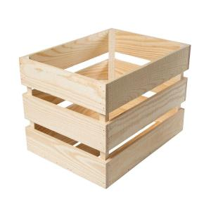 crates pallet in x 13 5 in x 13 in heavy duty crate 67393 the home depot. Black Bedroom Furniture Sets. Home Design Ideas
