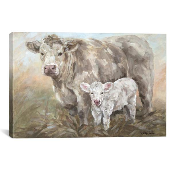 iCanvas ''Sweet Pea'' by Debi Coules Canvas Wall Art JSR65-1PC3-18x1