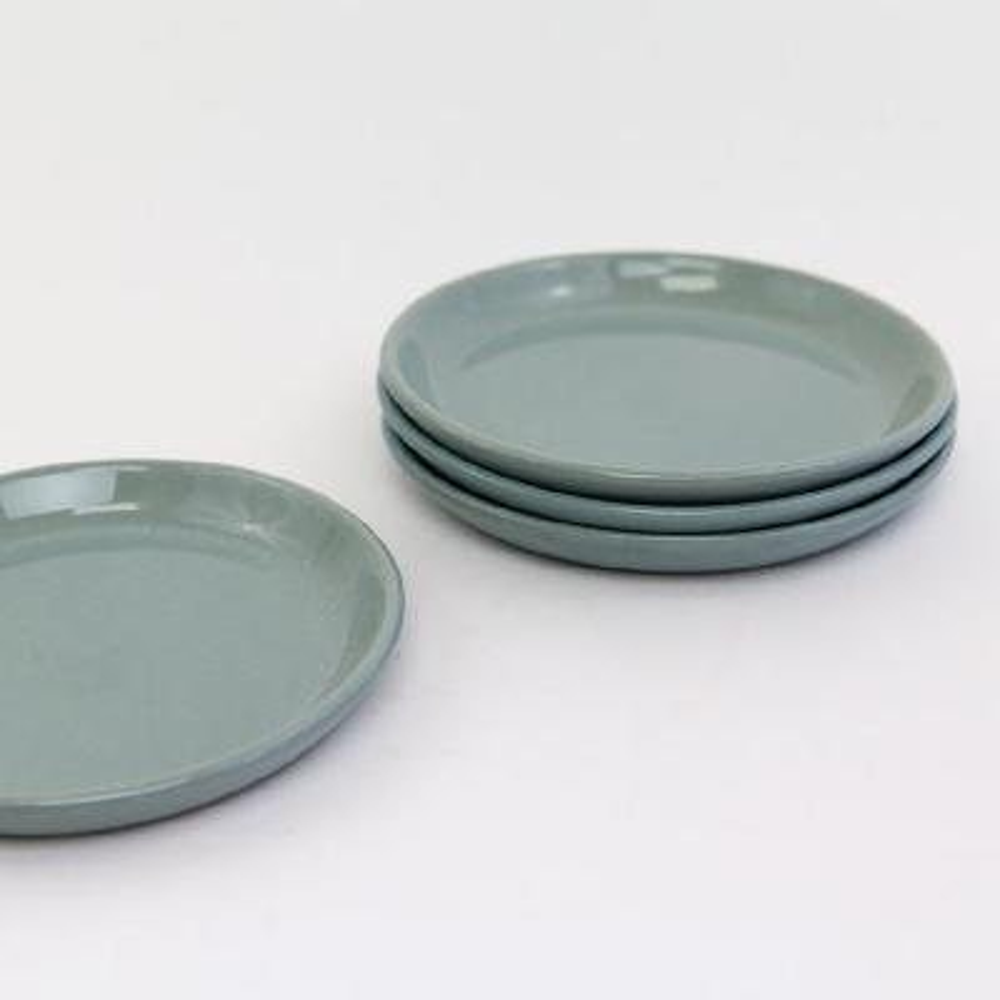 La Marsa Pale Jade Bread Plate (Set of 4)
