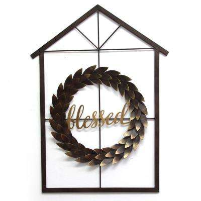 Blessed Wreath and House Wall Decor