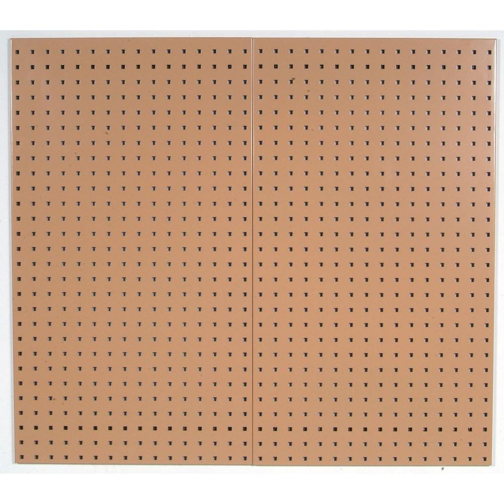triton products 3 8 in tan pegboard wall organizer. Black Bedroom Furniture Sets. Home Design Ideas
