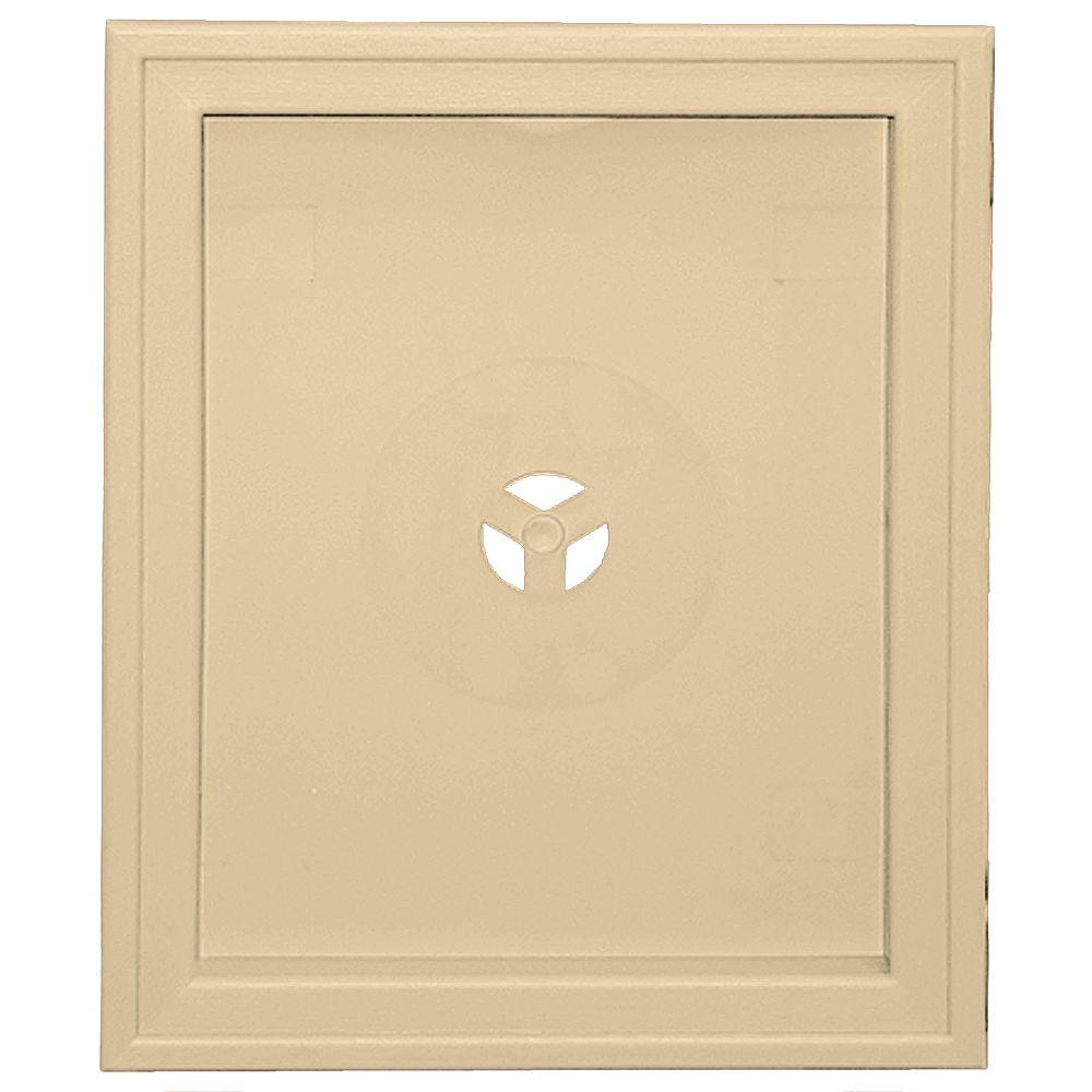 6.75 in. x 8.75 in. #012 Dark Almond Large Recessed Mounting