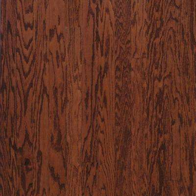 Town Hall Oak Cherry Engineered Hardwood Flooring - 5 in. x 7 in. Take Home Sample