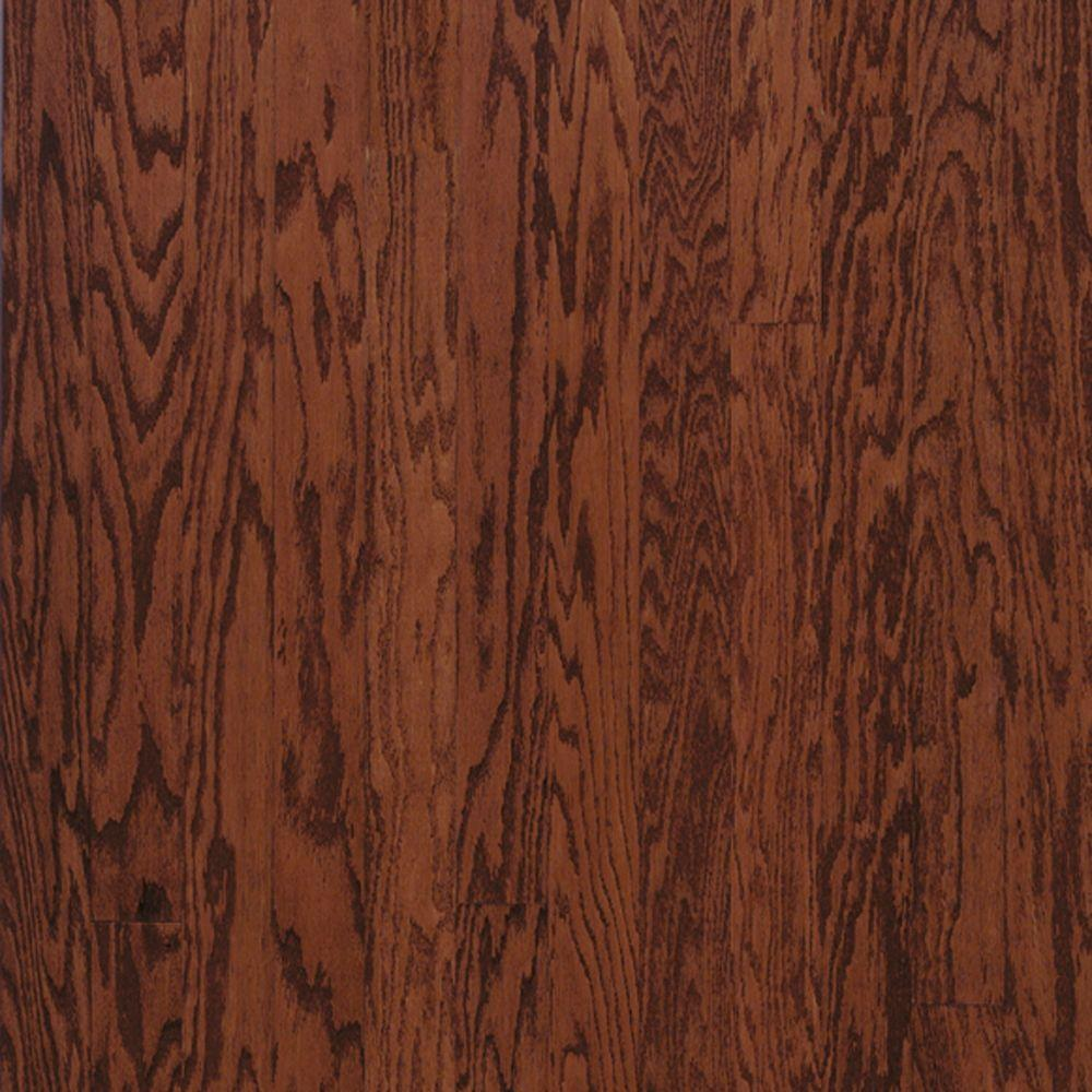 Bruce Town Hall Oak Cherry Engineered Hardwood Flooring - 5 in. x 7 in. Take Home Sample