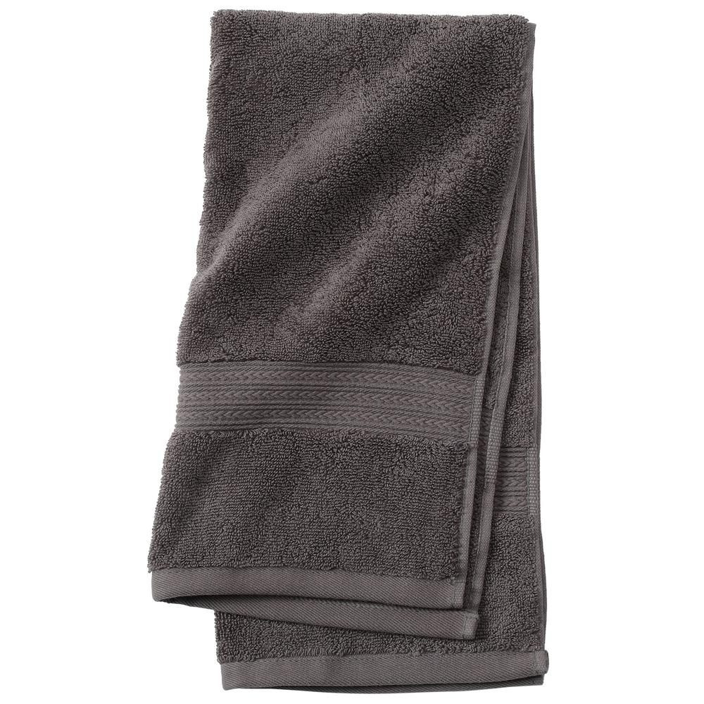 Newport 1-Piece Hand Towel in Charcoal