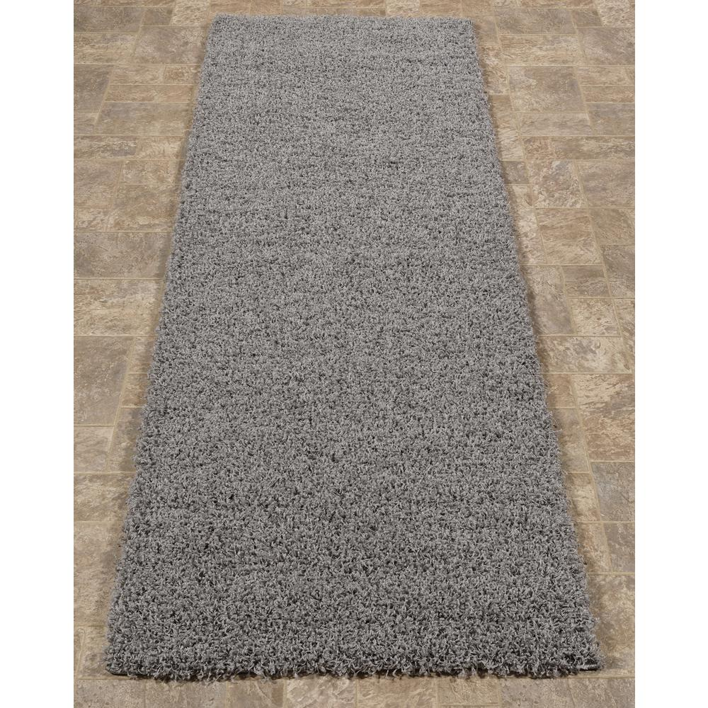 Sweet Home S Cozy Collection Gray 3 Ft X 8 Runner Rug