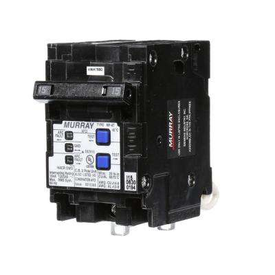 15 Amp Double-Pole Type MP-AT Combination AFCI Circuit Breaker