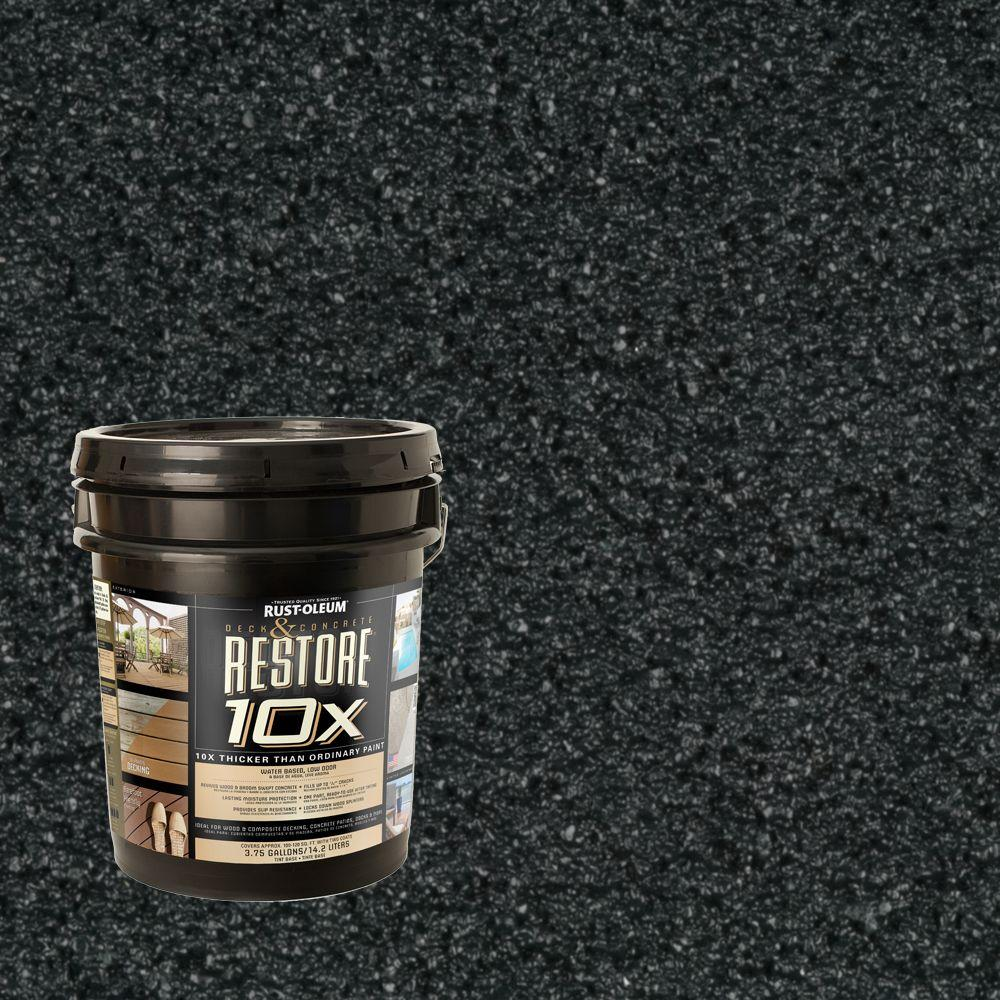 Rust-Oleum Restore 4-gal. Charleston Green Deck and Concrete 10X Resurfacer
