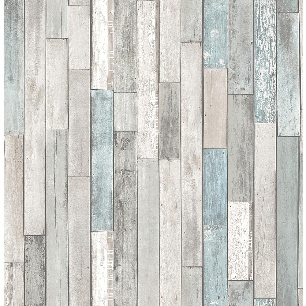 Brewster Barn Board Grey Thin Plank WallpaperFD23273 The Home Depot