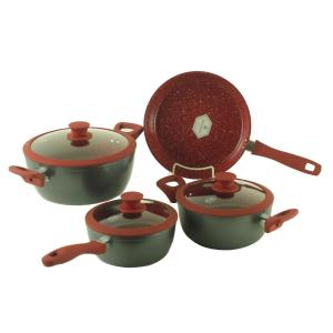 Royal Cook 7-Piece Forged Aluminum Cookware Set by Royal Cook