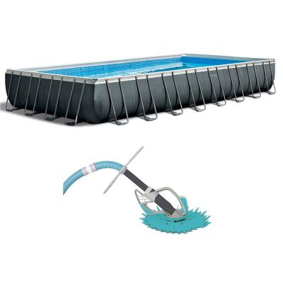 32 ft. Rectangle Ultra XTR Pool Set with Kokido Butterfly Pool Vacuum