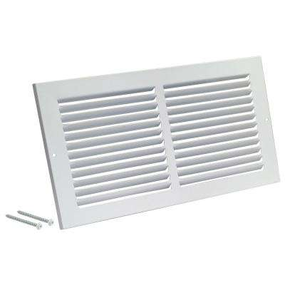 16 in. x 20 in. White Return Air Grille