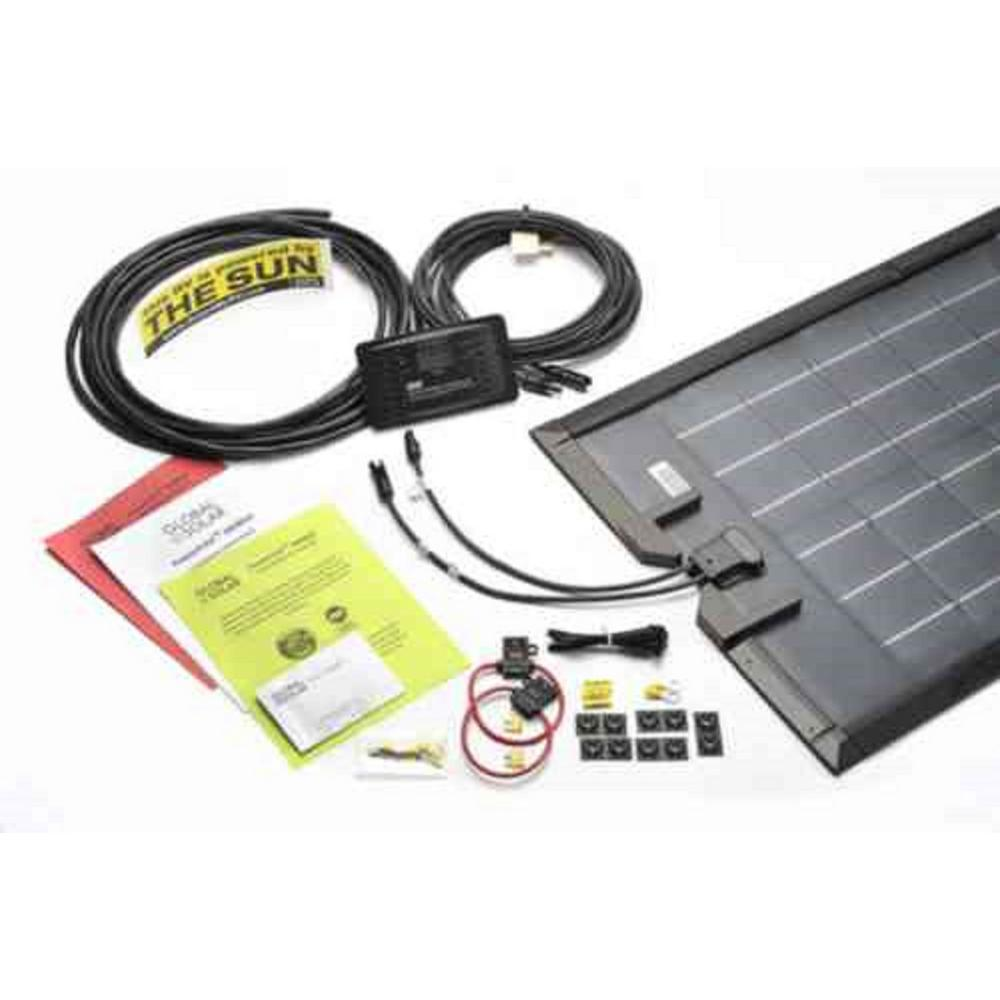 Grape Solar 100 Watt Off Grid Panel Kit Gs The Home Wiring Sp 200 Flexible Rv