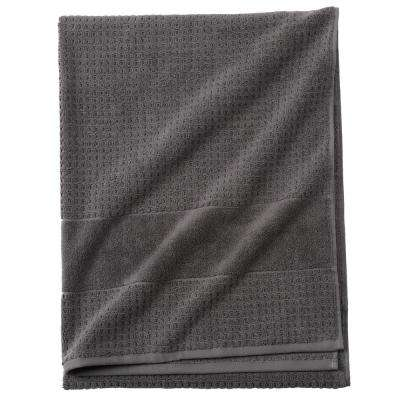 Fairhope 1-Piece Turkish Bath Sheet in Charcoal