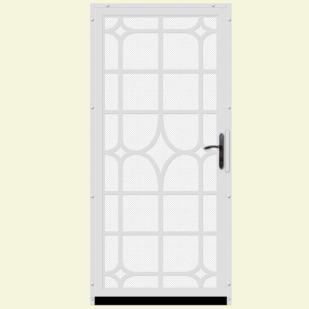 Unique Home Designs 36 in. x 80 in. Lexington White ...