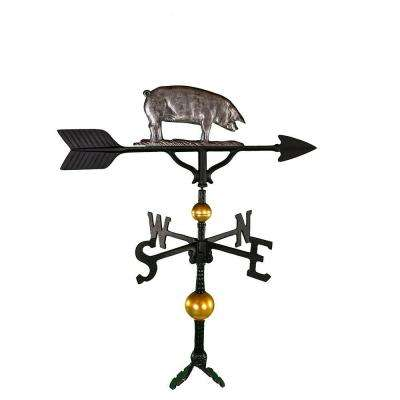 32 in. Deluxe Swedish Iron Pig Weathervane