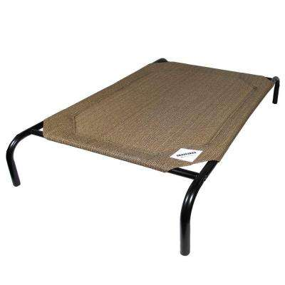 Large Nutmeg Steel Pet Bed