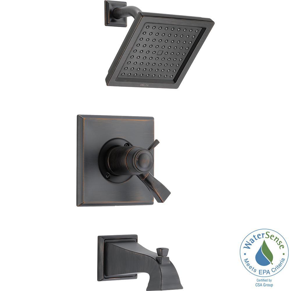 Dryden TempAssure 17T 1-Handle Tub and Shower Faucet Trim Kit in