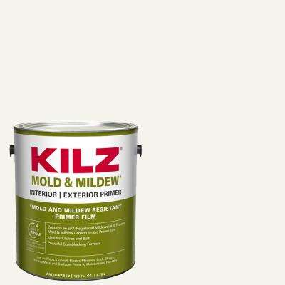 Mold and Mildew 1 gal. White Water Based Interior and Exterior Primer, Sealer and Stain-Blocker