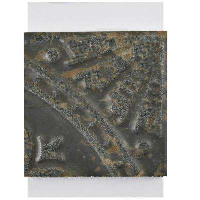 Saja Nero Ceramic Floor and Wall Tile - 3 in. x 4 in. Tile Sample