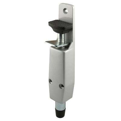 Step-On Door Holder, Diecast Aluminum, Spring Loaded