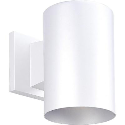 White 1-Light 7.25 in. Outdoor Wall Lantern