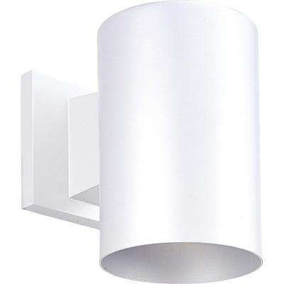 White 1-Light Outdoor Wall Lantern