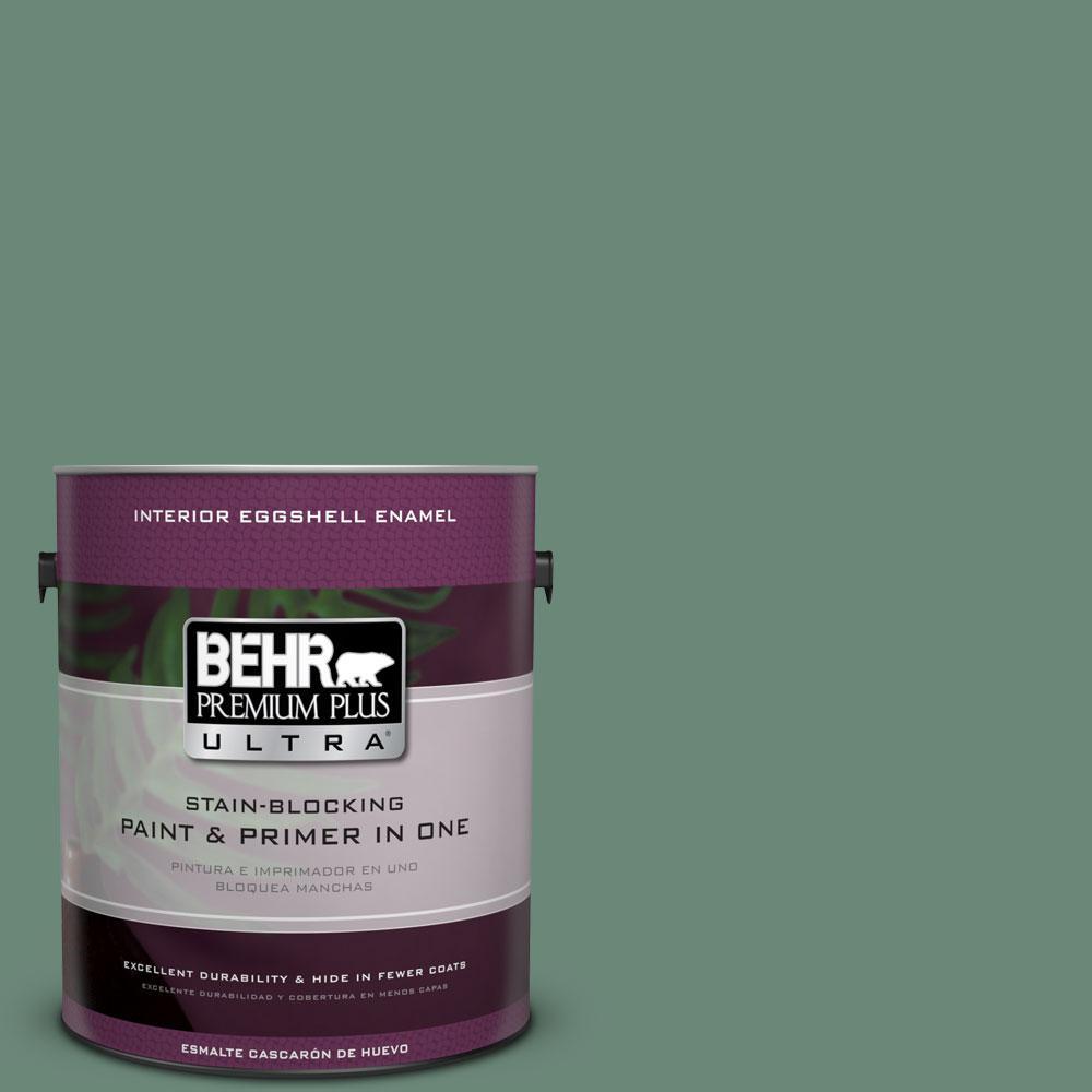 BEHR Premium Plus Ultra 1-gal. #S420-5 Sycamore Grove Eggshell Enamel Interior Paint