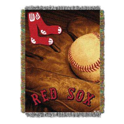 Red Sox Multi Color Vintage Tapestry throw
