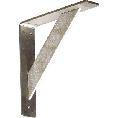 10 in. x 2 in. x 10 in. Stainless Steel Unfinished Metal Traditional Bracket