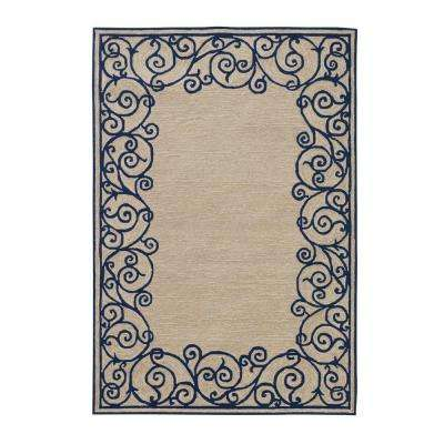 Estate Blue 8 ft. x 10 ft. Area Rug