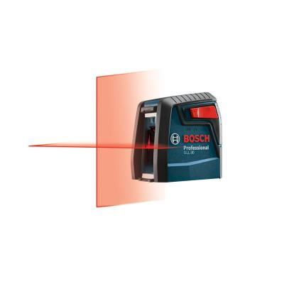 30 ft. Cross Line Laser Level Self Leveling with 360 Degree Flexible Mounting Device and Carrying Pouch