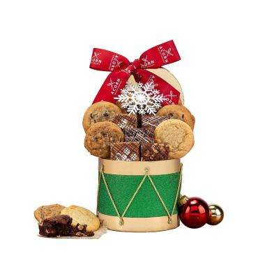 Cookie and Brownie Drum Gift Box