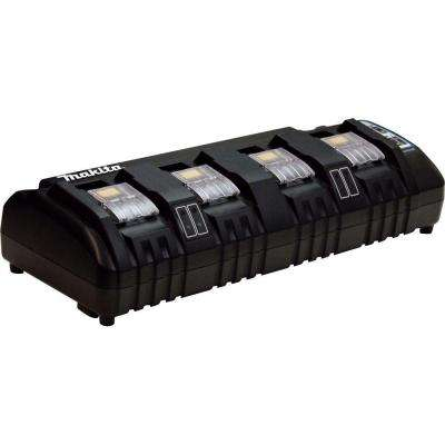 18-Volt Lithium-ion 4-Port Charger