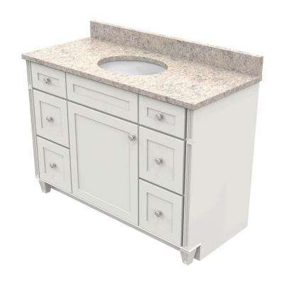 Inch Vanities KraftMaid Bathroom Vanities Bath The Home Depot - Home depot bathroom vanities 48 inch