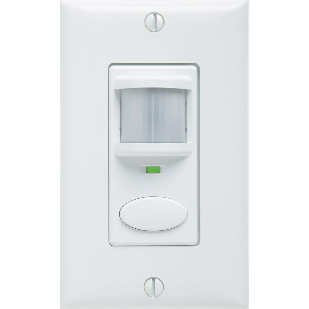 bathroom motion sensor light switch lithonia lighting decorator vacancy motion sensing self 22269