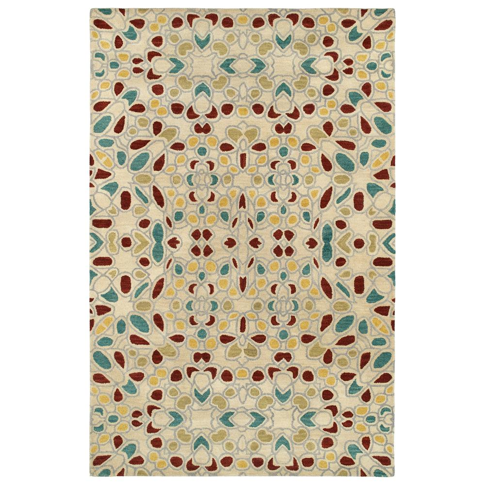 Art Tiles Beige 5 ft. x 7 ft. 9 in. Area