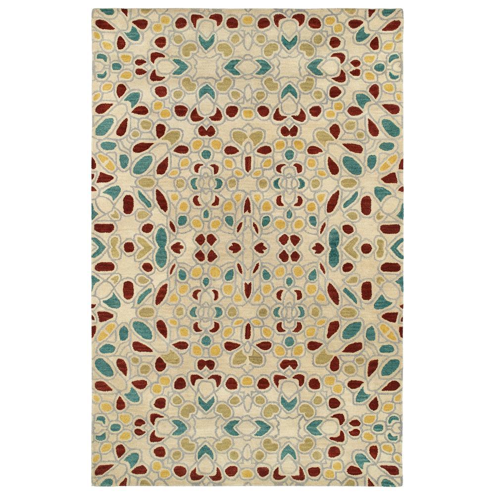 Art Tiles Beige 9 ft. 6 in. x 13 ft. Area