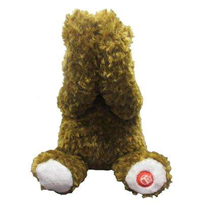 11 in. Brown Peek A Boo Bear with Animation