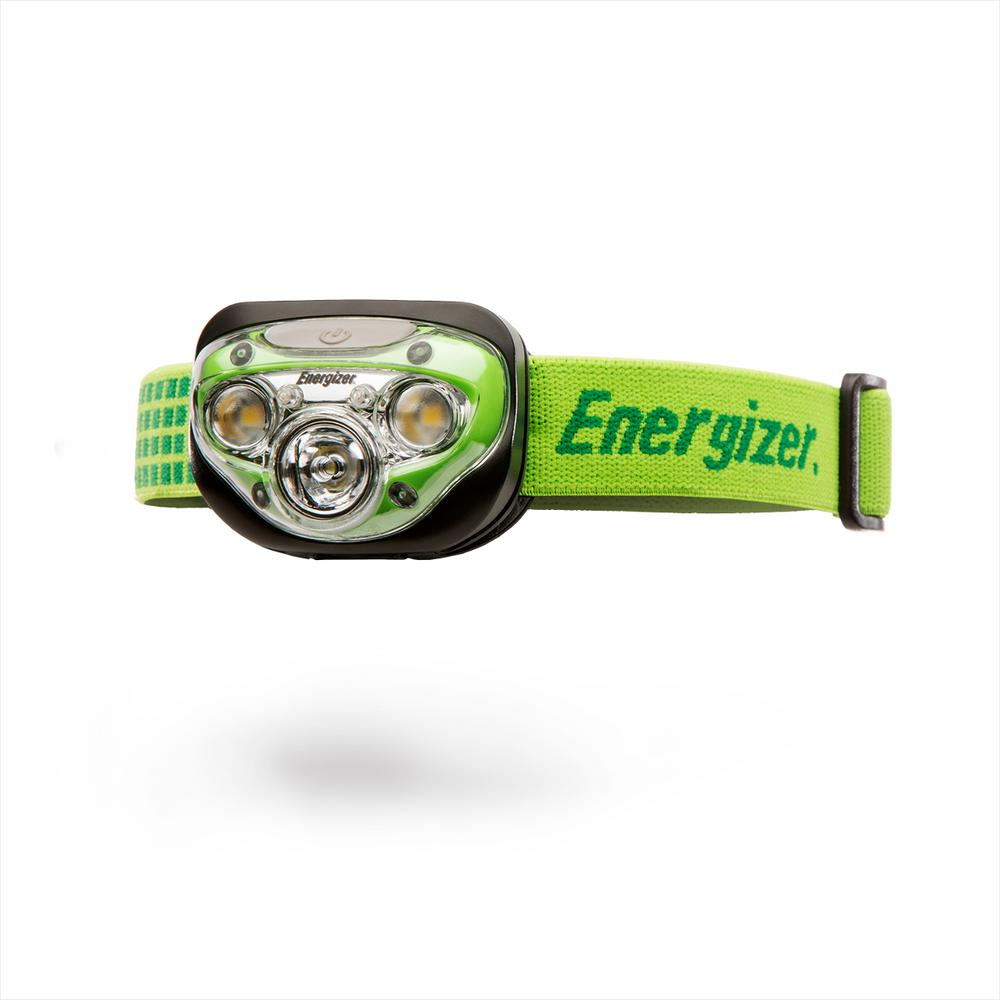 Energize LED AAA Headlamp with HD+ Vision Optics, 4 Modes Flashlight