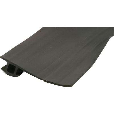 7/8 in. to 1-3/8 in. W x 7 ft. L Black Vinyl Bug Seal for 7/16 in. x 7/32 in.
