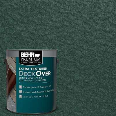 1 gal. #SC-114 Mountain Spruce Extra Textured Solid Color Exterior Wood and Concrete Coating